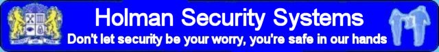 Holman Security Systems covering the West Midlands
